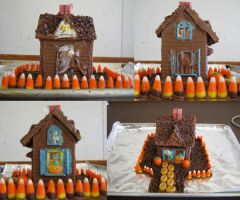 Chocolate Haunted House by kailyia