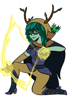 Huntress Wizard by AninhaT-T