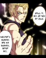 Fairy Tail #286 - Laxus rage by Tremblax