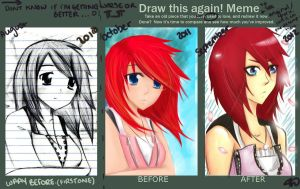 draw this again meme II by Twilight--Hope