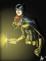 Batgirl Colours by palmaay