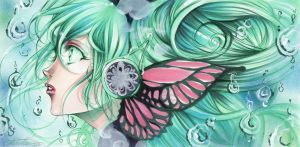 Vocaloid - Miku by Giname