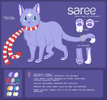 Reference Sheet - Saree v2 by CranberryNoodles