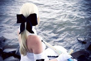 Lady of the Lake - Saber lily by xSan-chi