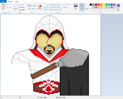 Ezio(Assasin's Creed)- WIP 3 by TicklePixel