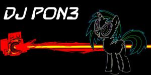 DJ Pon3 wallpaper by Diagon197