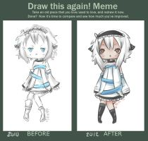 Before and After meme by WanNyan