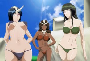 Bleach Halibel fraccions Apachi Sunsun Mila Rose by Mr123GOKU123