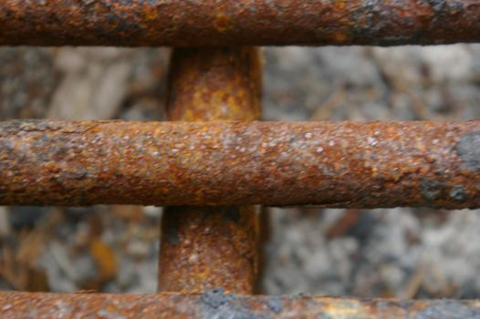 Rusty BBQ pit bars  by IronMAYden99