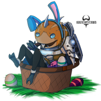 Easter-Kerchu by RoboticMasterMind