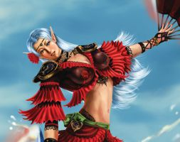 FFXI Dancer Close up by ni6htmare01