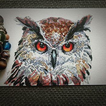 Owl by Ngaladel