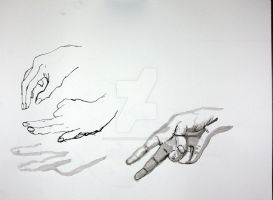 Hands Study by waterfish5678901