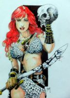 Red Sonja by PM-Graphix