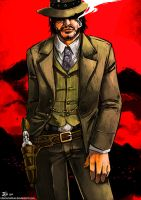 -John Marston- by obsceneblue