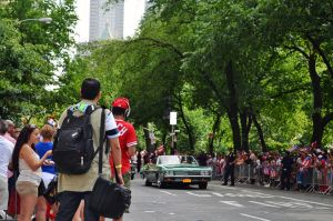 Puerto Rican Day Parade by caliskyline