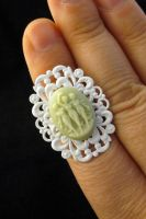 Three Graces Cameo Ring by egyptianruin
