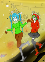 Matryoshka Adventure! by neon-shan
