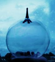 Eiffel Tower Bubble by yuiiwae