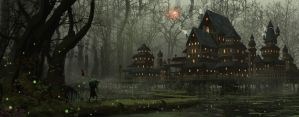 Home Is Where The Swamp Is by tommyscottart