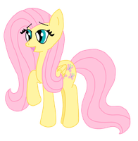 Fluttershy Is Happy by LorettaFox