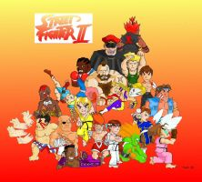 Street Fighter Chibi by Gygrazok