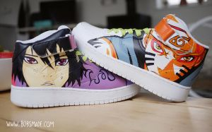 Naruto - Custom Sneaker Design by Bobsmade