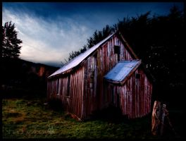 Red Shed V3 by shadowfoxcreative