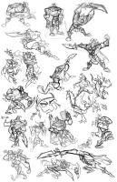 Livestream Character Gestures by SuperStinkWarrior