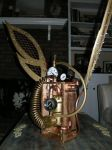 Mesh and Coil Steampunk Wings by melsmith928