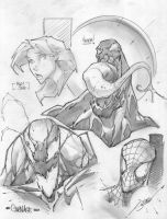 Sketch PG SPIDEY by StevenSanchez
