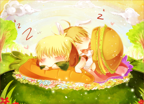 APH: Sweet dream by RuminE