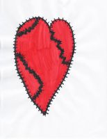 Stitched up Heart by normalphobic