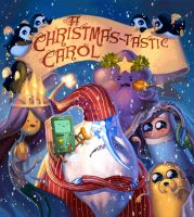 Adventure Time - A Christmas-tastic Carol by emilywarrenart