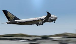 Singapore 747-400 by Boeing787