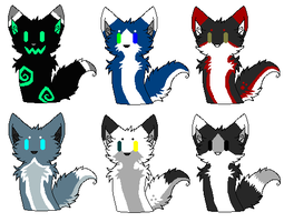 Chibi Adoptables -1 left- by AdoptableShelter