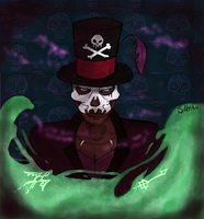 Dr. Facilier - The Princess and the Frog by SillyAu