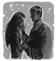 Sarek and Amanda by Joanna-Estep