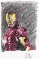 iron man homem de ferro by guypapper