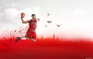 Derrick Rose by andreasbsn