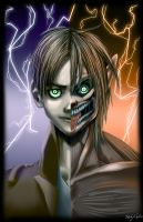 Eren Titan by happyzuko