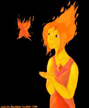 flame princess by misspancaked