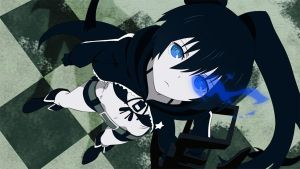 Black_Rock_Shooter by Raidenss