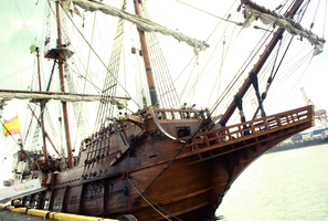 Galleon Andalucia by LUNARU