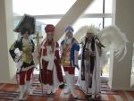 Trinity Blood~Amongst the Crowd by Jules-d-Ar