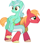 Big Mac hauling babes by Stormsclouds