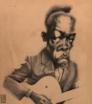 John Lee Hooker by gabrio76