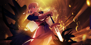 Saber Fate by GreedLingCR