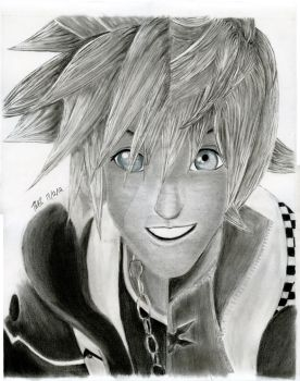 One Heart, Two Bodies (Sora/Roxas- Kingdom Hearts) by Tommydrawgames
