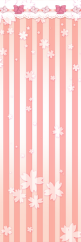 Sakura Ribbon Free Costume Background by judetoth